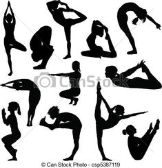Image result for sketches of Yoga Asanas
