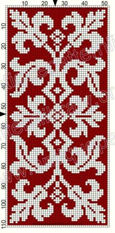 41 Trendy ideas for embroidery flowers border punto croce Cross Stitch Borders, Cross Stitch Flowers, Cross Stitch Designs, Cross Stitching, Cross Stitch Embroidery, Cross Stitch Patterns, Crochet Cross, Crochet Chart, Knitting Charts
