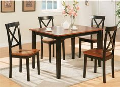 Dining Room set-Temple-Stuart - Hutch, 6 chairs, Table | Pinterest ...