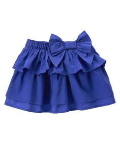 Tiered Ruffle Skirt at Gymboree Collection Name: Butterfly Batik (2015)