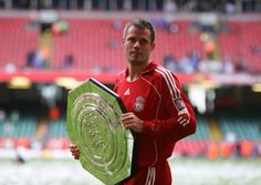 More silverware for Carra at Cardiff in 2006 - this time it's the Community Shield at Chelsea's expense