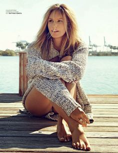 Elle Macpherson for Vogue Russia June 2015 - Bottega Veneta / editorial / fashion