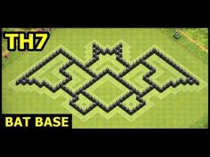 Town Hall 7 Bat Base Clash of Clans | TH7 Batman Base Hybrid Art Design  YouTube