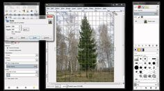 GIMP: Scale Image and Layers