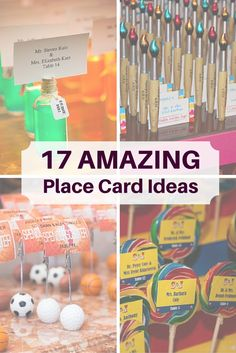 Place cards are an important way to make sure your guests know where to go when they arrive at your party, but they're also one of the first chances you get to introduce them to the Bar or Bat Mitzvah's theme! Check out some of these amazing place card ideas to see how other people are incorporating their theme into their place cards and table arrangements.