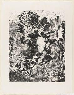 Jean Dubuffet. Landscape with Foliage (Paysage aux frondaisons). 1953