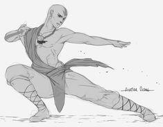 In his Twenties | by mebontsai | Aang | The Last Airbender | Avatar