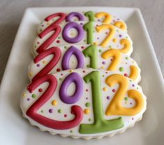 New  Year Cookies by SweetSugarBelle, via Flickr