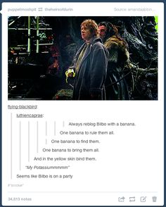 One banana to rule them all