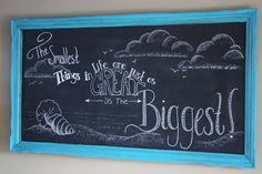 Through My Creative Mind: Chalkboard Obsession Linky Party