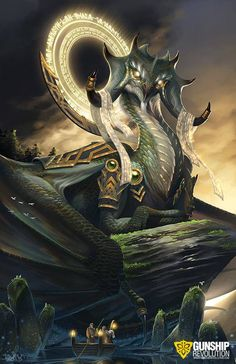ArtStation - Mhir the Wise, Brian Joseph Valeza Dragon Fantasy Myth Mythical Mystical Legend Dragons Wings Sword Sorcery Magic Mythical Creatures Art, Mythological Creatures, Magical Creatures, Dark Fantasy Art, Fantasy Artwork, Fantasy Monster, Monster Art, Fantasy Beasts, Dragon Artwork