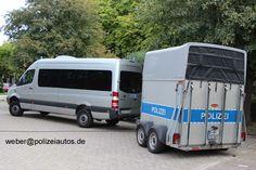 Polizeiautos.de - Mercedes-Benz (W 906) Sprinter 315CDi 4x4 mit Anhänger