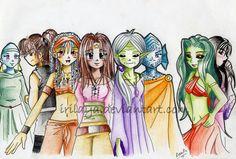 Idhun Girls :MdI: by Irilaya