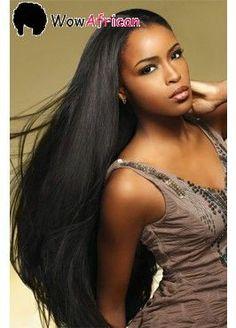 Natural Color Silky Straight Brazilian Virgin Hair Glueless Full Lace Wigs[GFL06] $164 !!