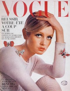 Twiggy for Vogue France May 1965