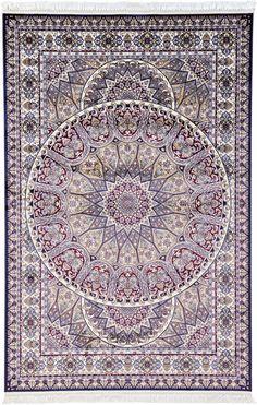 Tan 6' 6 x 9' 11 Isfahan Design Rug   Area Rugs   eSaleRugs
