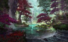 Artwork inediti per The Elder Scrolls Online. ZeniMax Online Studios e Bethesda hanno diffuso una quindicina di disegni preparatori sul mmorpg
