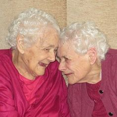 They're 103 — and amazingly not tired of each other. #sisters #inspiration