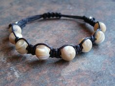 Mother of Pearl Healing Energy Bracelet - Mother of Pearl is calming, enhances personal integrity, provides focus, promotes faith, sincerity, charity & innocence and is considered a protective stone. http://zenjewelry.mysticnaturals.com/mother-of-pearl-healing-bracelet/