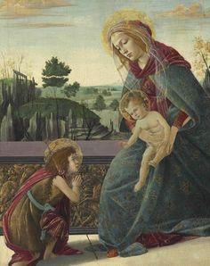 НЬЮ-ЙОРК. В ходе аукциона Christie's предметов искусства периода Ренессанса, картина «Мадонна с младенцем и молодым Св. Иоанном Крестителем» (Madonna and Child with Young Saint John the Baptist, 1493-1495) Сандро Боттичелли (Sandro Botticelli, 1445-1510), была продана по рекордной для художника цене в 10,4 млн. долларов США.