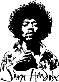 Jimi Hendrix by on DeviantArt