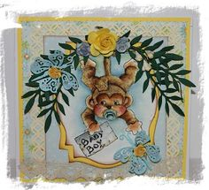 Baby Monkey from Magnolia Princes and Princesses Collection