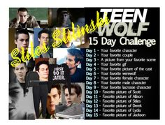 """""""Day 8 - Stiles"""" by chloelivelife on Polyvore"""