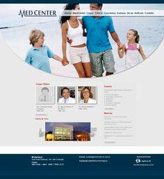 Web Site MedCenter - Palmeira dos Índios - 2012 | http://www.medcenter-al.com.br/