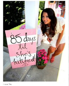 A Bride On A Budget: Pin Of The Week: Days Til She's Hitched