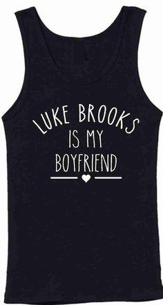 Luke Brooks Is My Boyfriend Unisex Vest Tank Top by CrazyPrintsL, £7.99