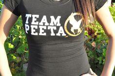 Team Peeta Hunger Games TShirt by jerryamsterdam on Etsy