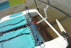 Hobie Cat PVC GoPro Mount Gopro Diy, Pvc Pipe, Sailing, Waves, Cat, Candle, Cat Breeds, Ocean Waves, Cats
