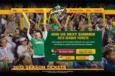Seattle Storm: 2013 Season Ticket Microsite