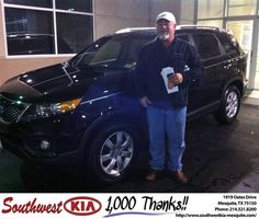 #HappyBirthday to Michael Mcdonough from Jerry Tonubbee at Southwest Kia Mesquite!