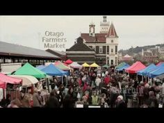 The Otago Farmers Market is the place to be in Dunedin on Saturday mornings. Starting at it's located beside Dunedin's Railway Station and the locals fir. Video Footage, Farmers Market, The Locals, Marketing, Videos