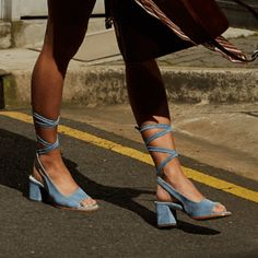 1 inch = cm *Select a suitable size depending on your feet length. If your measurement is between two sizes, always move up to the larger size. Mid Heel Shoes, Peep Toe Shoes, Shoes Heels, Lace Up Sandals, Lace Up Heels, Heeled Sandals, Dress Sandals, Wedge Sandals, Peep Toe Espadrilles