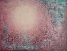 """""""Den indre sol"""" Akryl på lerret - 30 x 40 cm"""