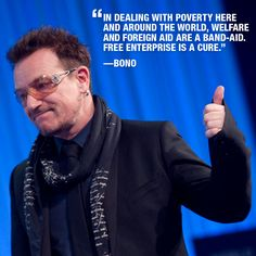 Re-pin if you agree! #Bono #U2 #CSR
