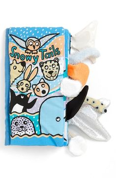 Free shipping and returns on Jellycat 'Snowy Tails' Book at Nordstrom.com. An adorable book features cute animal graphics and plush, touchable tails.