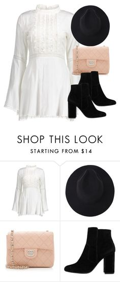 """""""Sin título #12040"""" by vany-alvarado ❤ liked on Polyvore featuring Chanel and MANGO"""