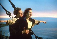 Golden Globes: See Leonardo DiCaprio and Kate Winslet Have a.: Golden Globes: See Leonardo DiCaprio and Kate Winslet Have… Titanic Movie, Rms Titanic, Movie Tv, Titanic Quotes, Titanic Poster, Movie Scene, Leonardo Dicaprio, Jack Dawson, 10 Film