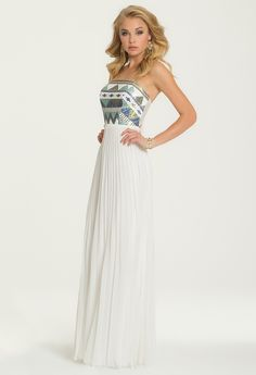 Aztec Sequin Bodice Dress from Camille La Vie and Group USA
