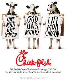 I love this. #chickfila #youhavemysupport