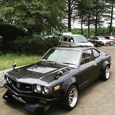 Bill clifford  Mazda rotary rx3