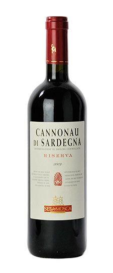 Cannonau - sardinian wine, Italy