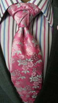 Pink Rose Necktie www.thecorvancollection.com