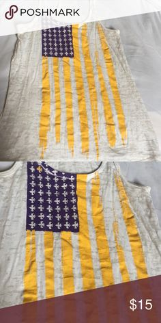 lsu american flag