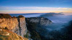 Creux du Van: Round trip in the Val de Travers - Switzerland Tourism Switzerland Travel Guide, Switzerland Tourism, Switzerland Vacation, Grand Tour, Best Vacations, Vacation Destinations, Train Suisse, Three Lakes, Stations De Ski