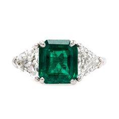 Vintage Emerald Ring | Adairsville from Trumpet & Horn (=)