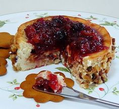 Can't wait to try this Cranberry Cheesecake Spread | Wives with Knives